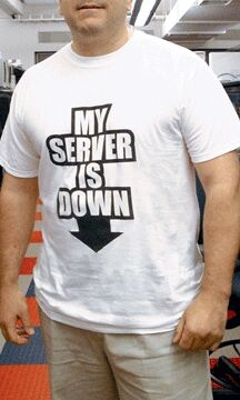 my-server-is-down-tshirt