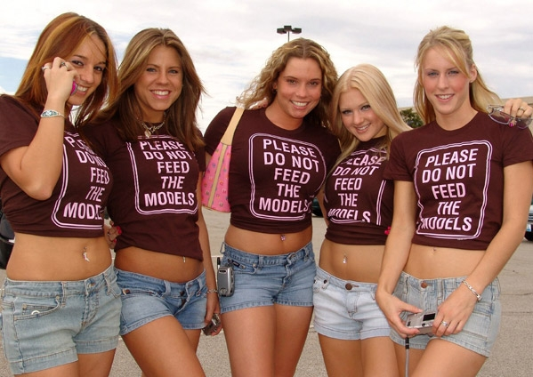 do-not-feed-the-models-tshirt