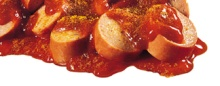 Lecker XXL-Currywurst